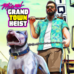 Free Download Miami Gangster Grand Town Heist: Real Gangster 3D 4.3 MOD APK, Miami Gangster Grand Town Heist: Real Gangster 3D Cheat