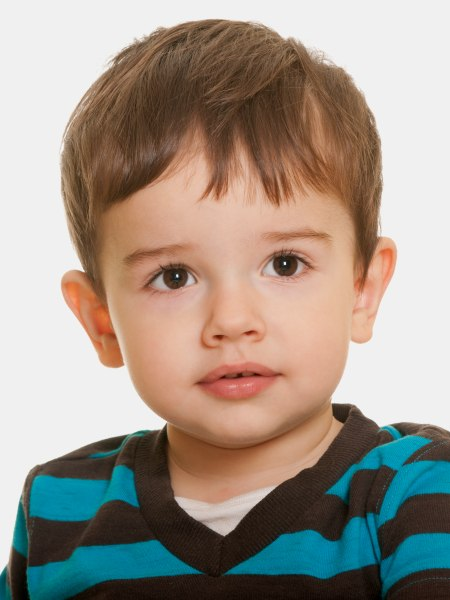 Kurze Frisur Für Kleinkinder Jungen