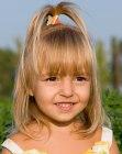 Frisuren Für Kleine Mädchen – Frisuren Für Kleinkind Und Kindergarten