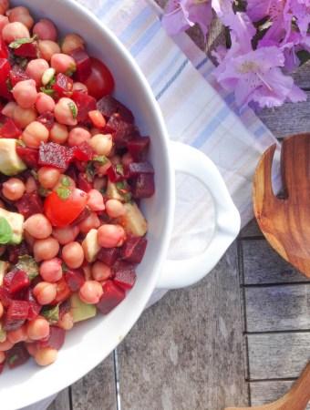Orientalischer Kichererbsen Salat à la May Britt