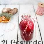 21 gesunde Weihnachtsrezepte