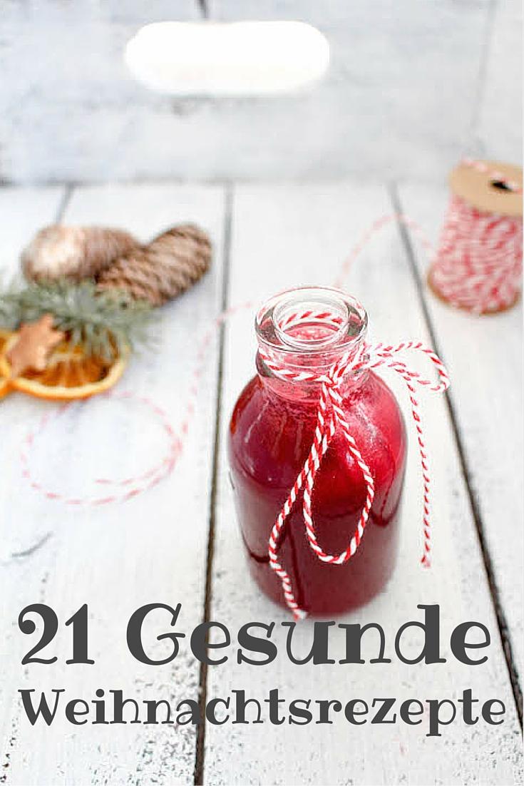 21 gesunde Weihnachtsrezepte - vegan, glutenfrei, ohne raffinierten Zucker - de.heavenlynnhealthy.com