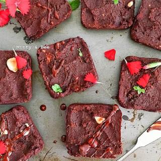 Brownies aus Kidney-Bohnen - vegan, glutenfrei, ohne Mehl, ohne raffinierten Zucker, vegetarisch - de.heavenlynnhealthy.com