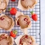 Gesunde Erdbeer-Muffins