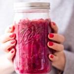 Gesundes Pinkes Kimchi - rein pflanzlich, vegan, glutenfrei, ohne raffinierten Zucker - de.heavenlynnhealthy.com