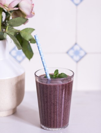 Der ultimative Blaubeer-Power-Smoothie