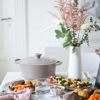 Gesundes Weihnachtsmenü 2018 - rein pflanzlich, vegan, glutenfrei, ohne raffinierten Zucker - de.heavenlynnhealthy.com
