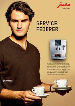 Roger Federer Cafe Jura
