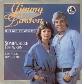 Jimmy Lawton met Ina Massuer van de Tumbleweeds