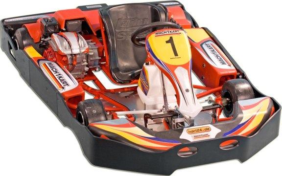 Mach1 Indoor/Outdoor-Kart RT2 Evo