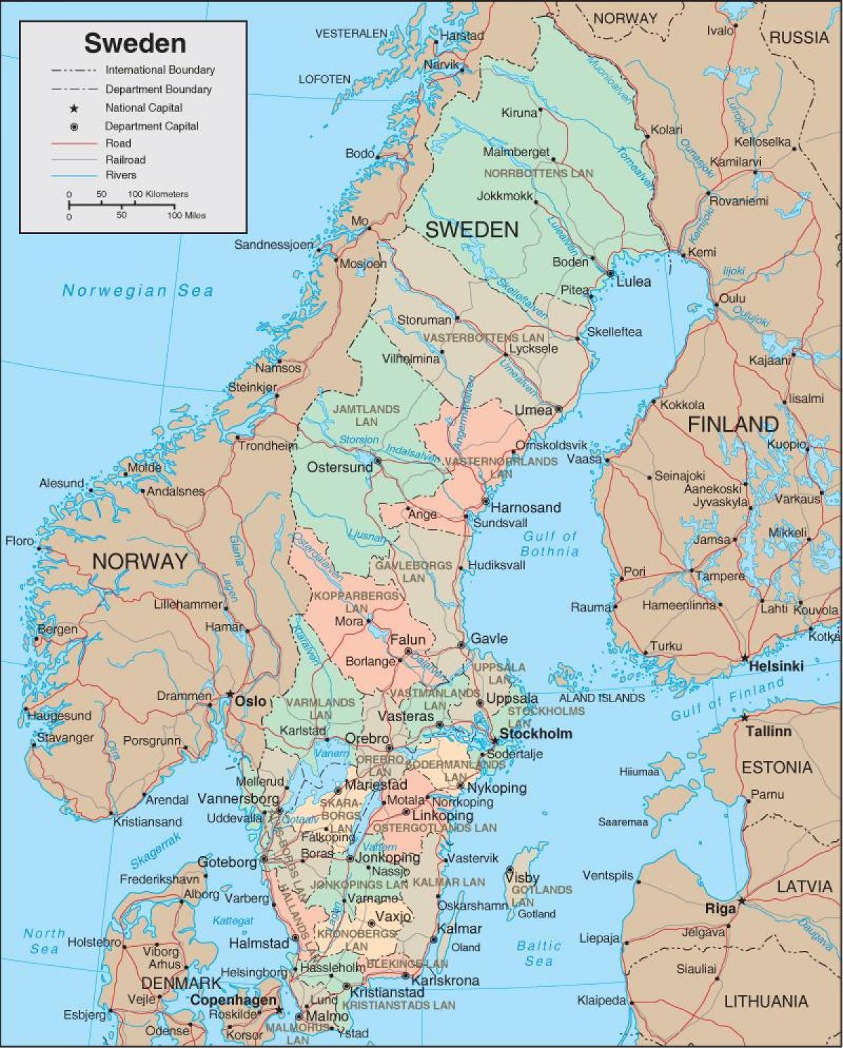 Costa Rica Karte Zum Ausdrucken.Bilder Ausdrucken Schweden