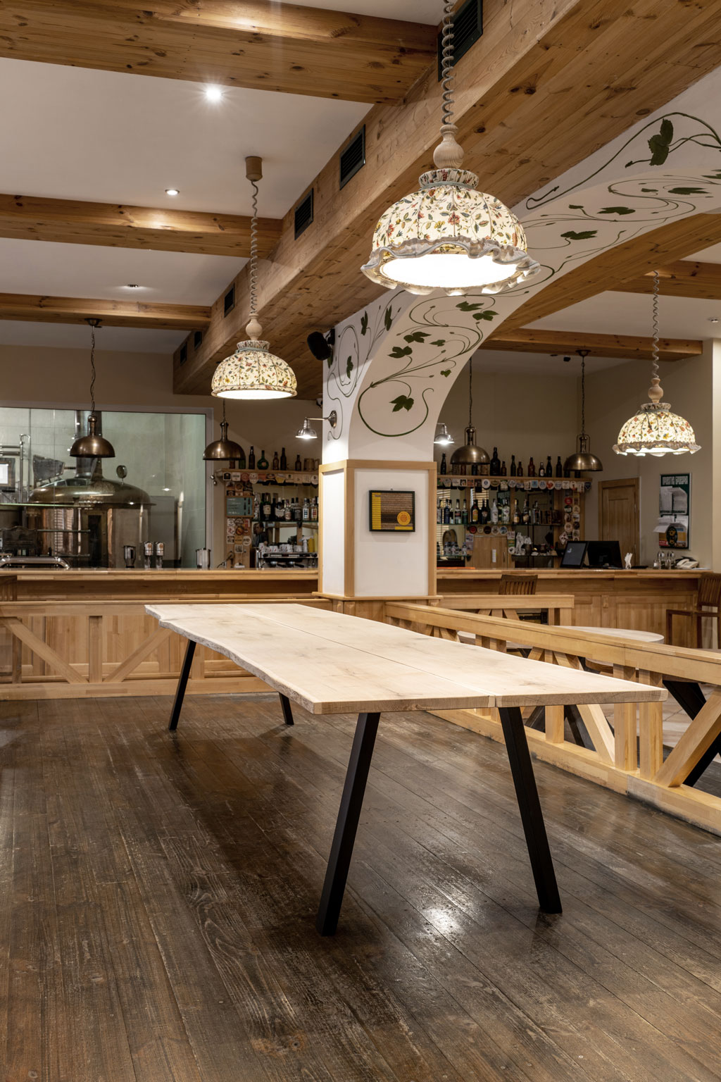 Oak Table Superior Size