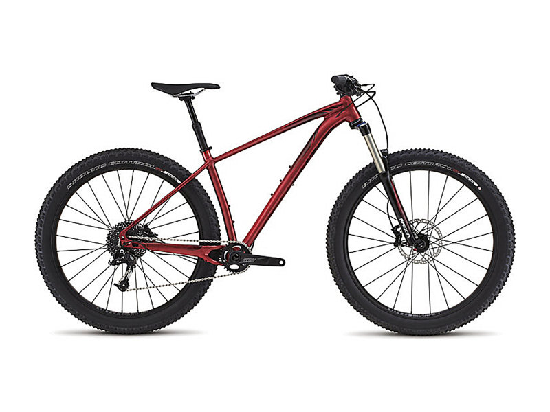Specialized Fuse Comp 6FATTIE Gloss Candy Red Neu