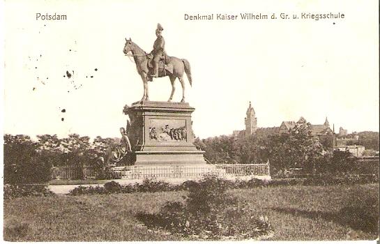 Datei:Ernst Herter - Reiterstandbild des deutschen Kaisers Wilhelm I..jpg