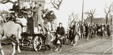 Flüchtlinge aus Ostpreußen
