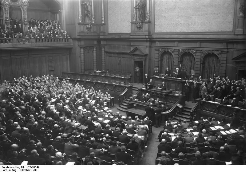 Datei:NSDAP Bundesarchiv Bild 102-10549, Berlin, Eröffnung des Reichstages.jpg