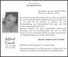 Datei:Alfred Czech - Danksagung.png