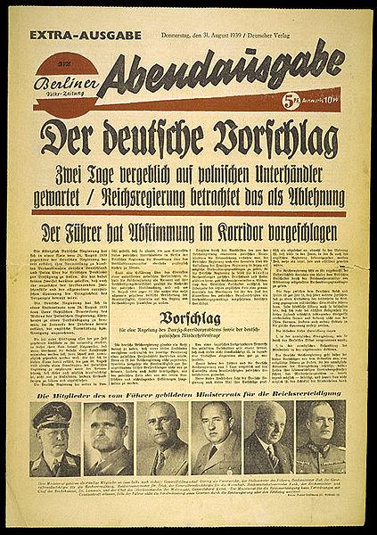 Berliner Volks-Zeitung 31. August 1939 Vorschlag Korridorabstimmung.jpg