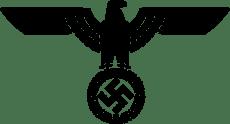 Parteiadler der Nationalsozialistische Deutsche Arbeiterpartei (1933–1945) (vector version).png