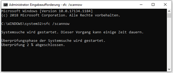 SFC Windows 10