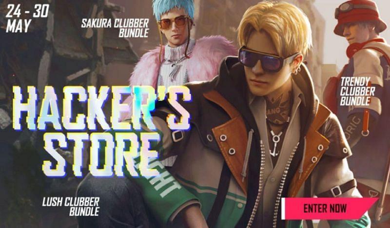 Hackerâ????s Store-Event hat vor kurzem begonnen (Bild über Free Fire)