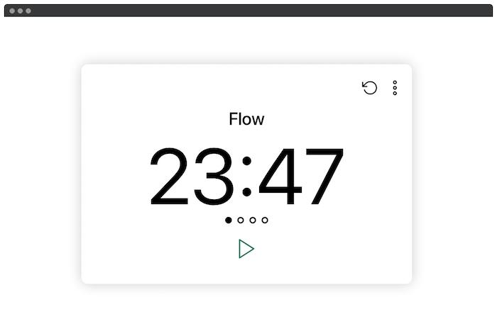 Die kostenlose Produktivitäts-App von Flow.
