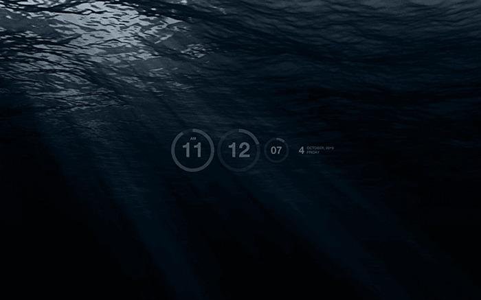 Beste Windows-Bildschirmschoner unter Wasser