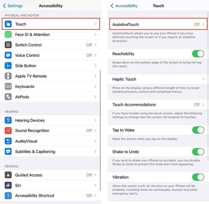 Barrierefreiheit Hacks Iphone Assistive Touch