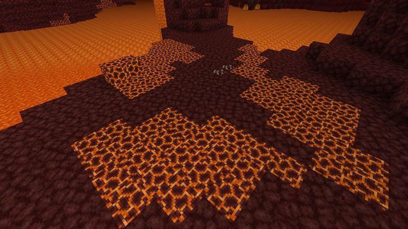 Magmablöcke können mit Schleimkugeln hergestellt werden (Bild über Minecraft Wiki)