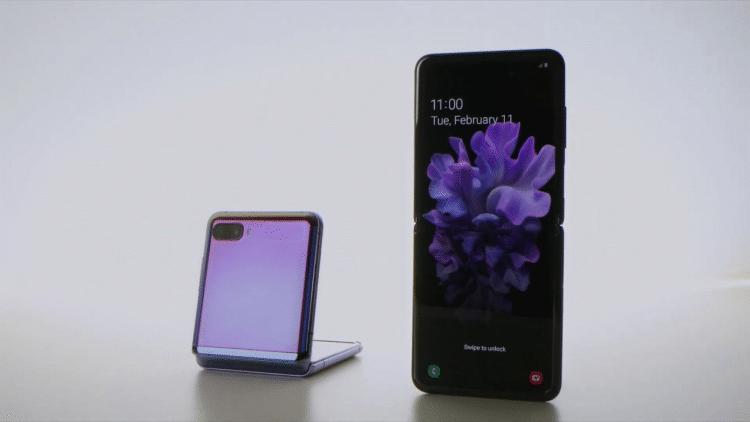 Faltbare Handys Samsung Flip
