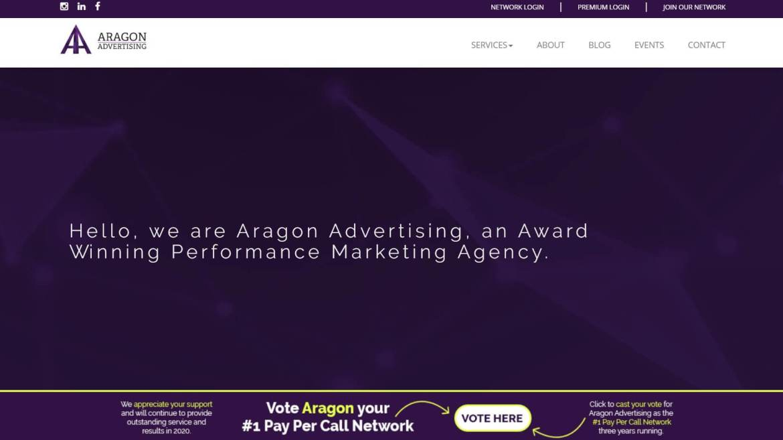 Aragon Werbung