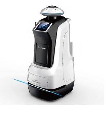 Desinfektionsroboter, die Wasserstoffperoxid-Dispenser verdampfen