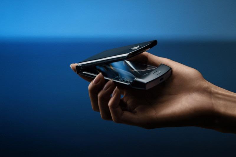Faltbare Telefone Motorola Razr