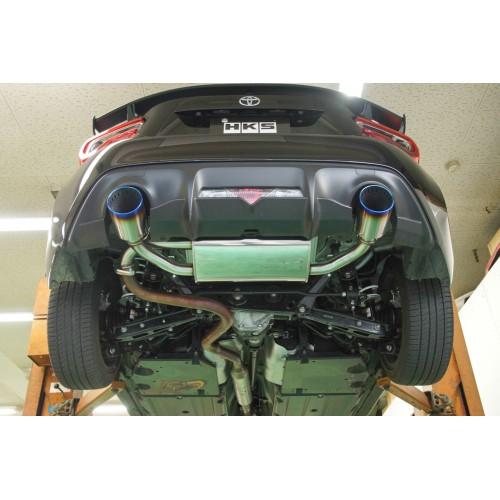 hks legamax premium exhaust toyota gt 86 and subaru brz