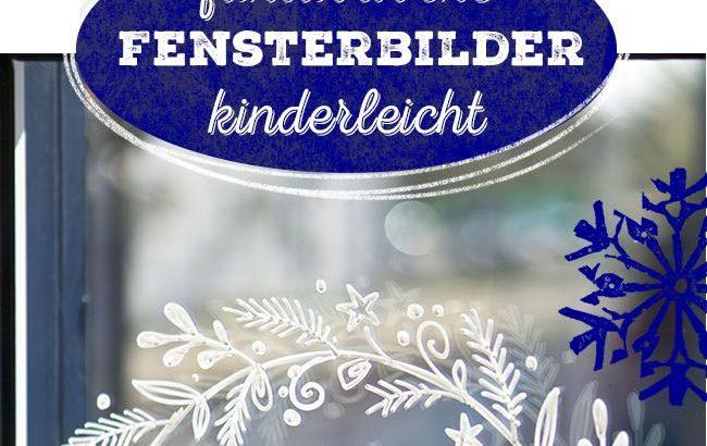 Fensterbilder Malen Vorlagen - Weihnachtsmotiv