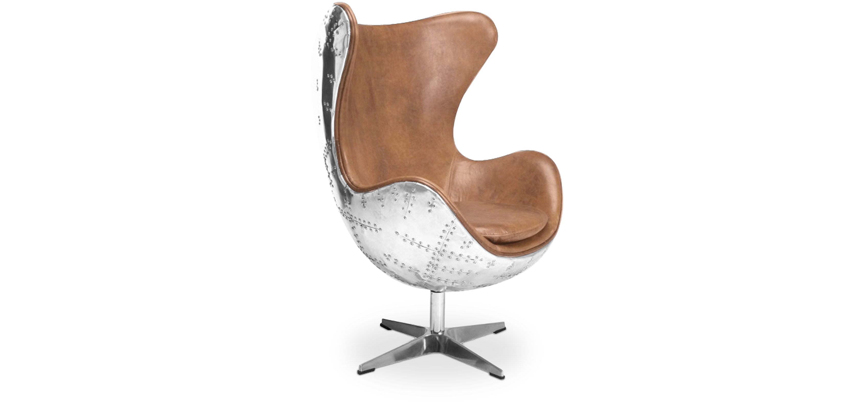Sessel Aviator Egg Chair Aviator Sessel Hochwertiges Leder