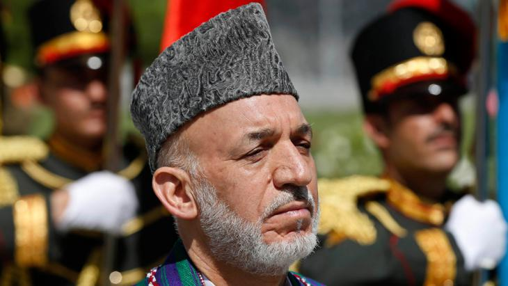 Der ehemalige afghanische Präsident Hamid Karzai; Foto: Reuters