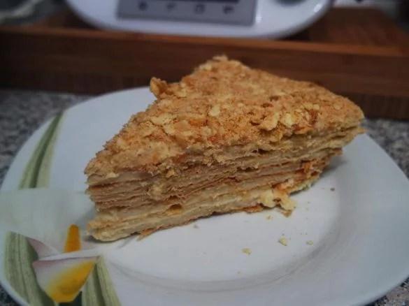 Russische Torte Napoleon von Thermimania Ein Thermomix  Rezept aus der Kategorie Backen s