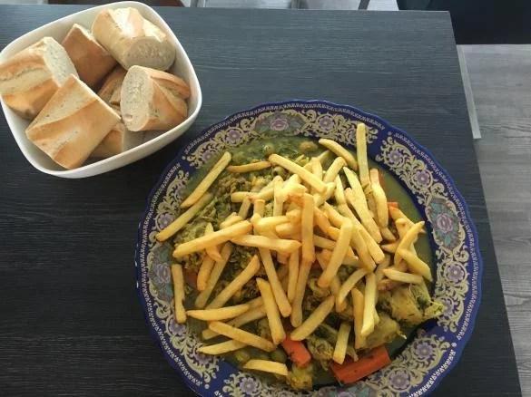 Hähnchen Tajine Marokkanische Küche von Pupsidai. Ein ...
