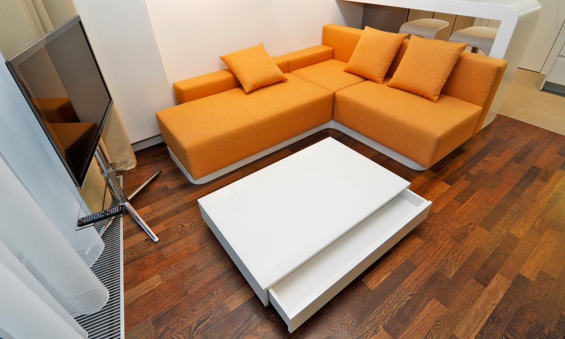 Mini-Appartement mit Galerie Eurovea, Bratislava, Slowakei RULES
