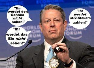Al Gore Eis Erderwärmung