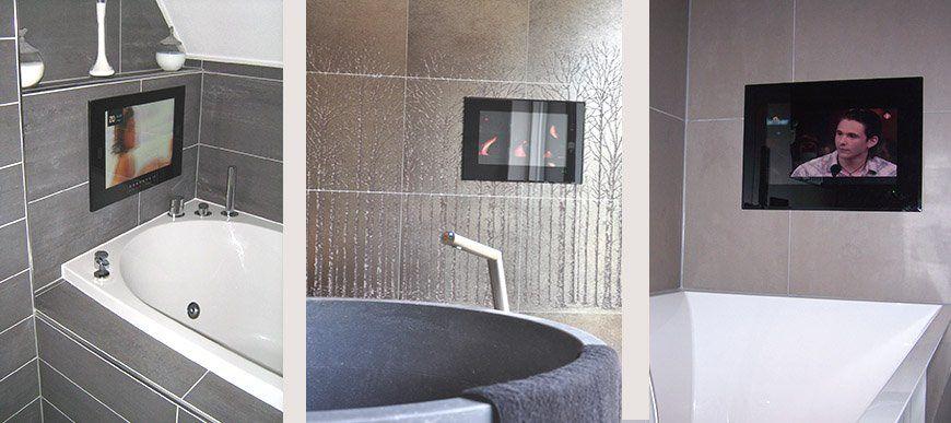 SplashVision Ihr Spezialist fr Badezimmer TV und Audio in Ihrem Bad oder Garten