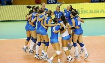 La nazionale italiana di Volley femminile