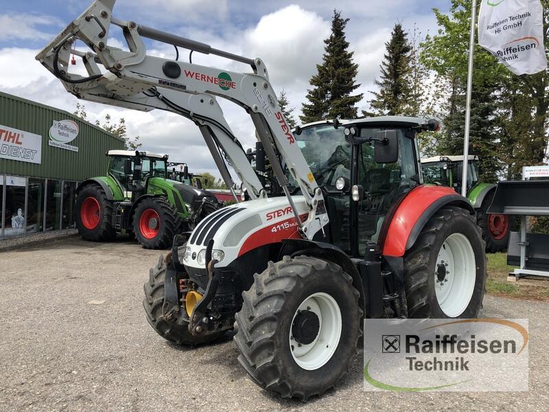 Steyr 4115 Multi ET Traktor gebraucht Bad Oldesloe