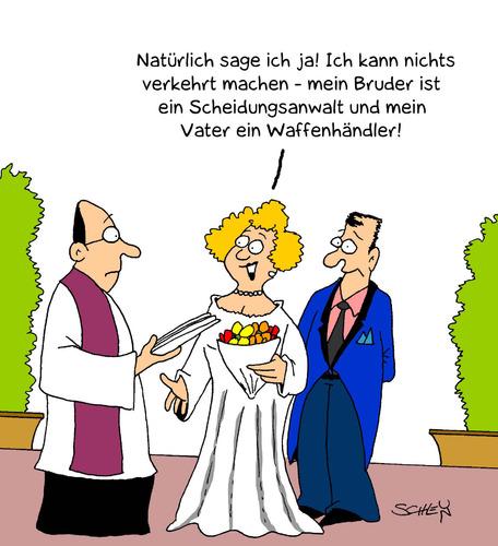 Heirat von Karsten  Liebe Cartoon  TOONPOOL