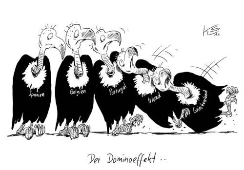 Cartoon: Domino (medium) by Stuttmann tagged domino,rettung,eu,finanzen,belgien,portugal,griechenland,spanien,irland,domino,rettung,eu,finanzen,belgien,portugal,griechenland,spanien,irland