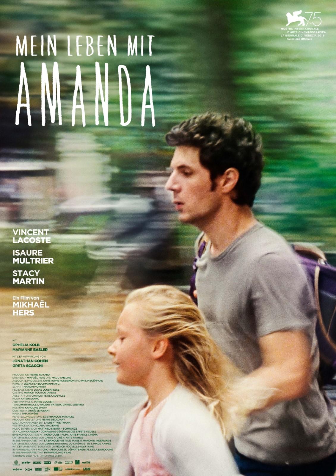 Mein Leben Mit Amanda Film 2018 Filmstartsde
