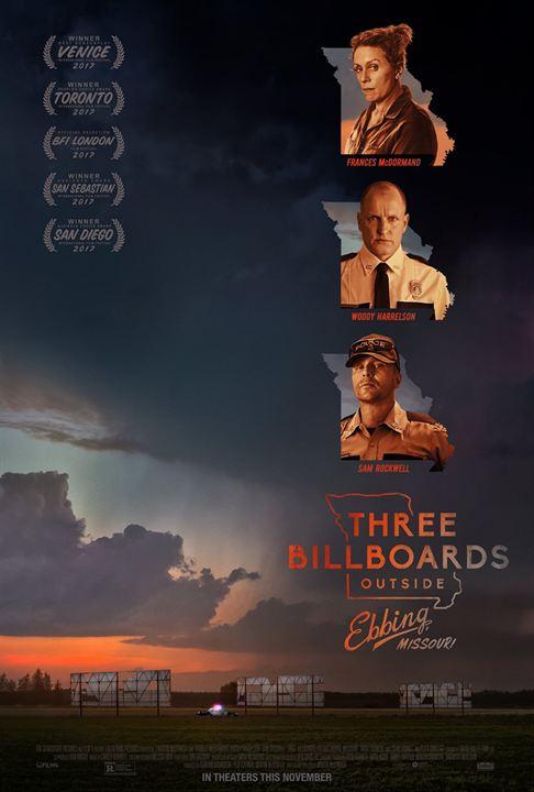 Bildergebnis für three billboards outside ebbing missouri filmplakat