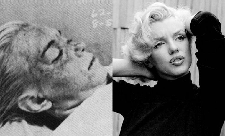 Marilyn Monroe, muerta