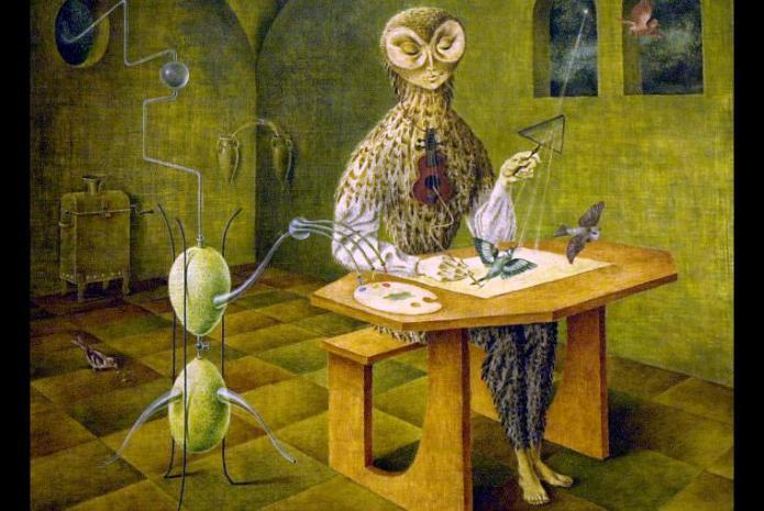 Resultado de imagen para Remedios Varo, sin tanta popularidad, es una de las mejores pintoras de México